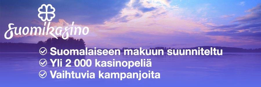 Suomikasino 2 - pelirahat