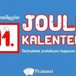 Suomikasinon joulukalenteri